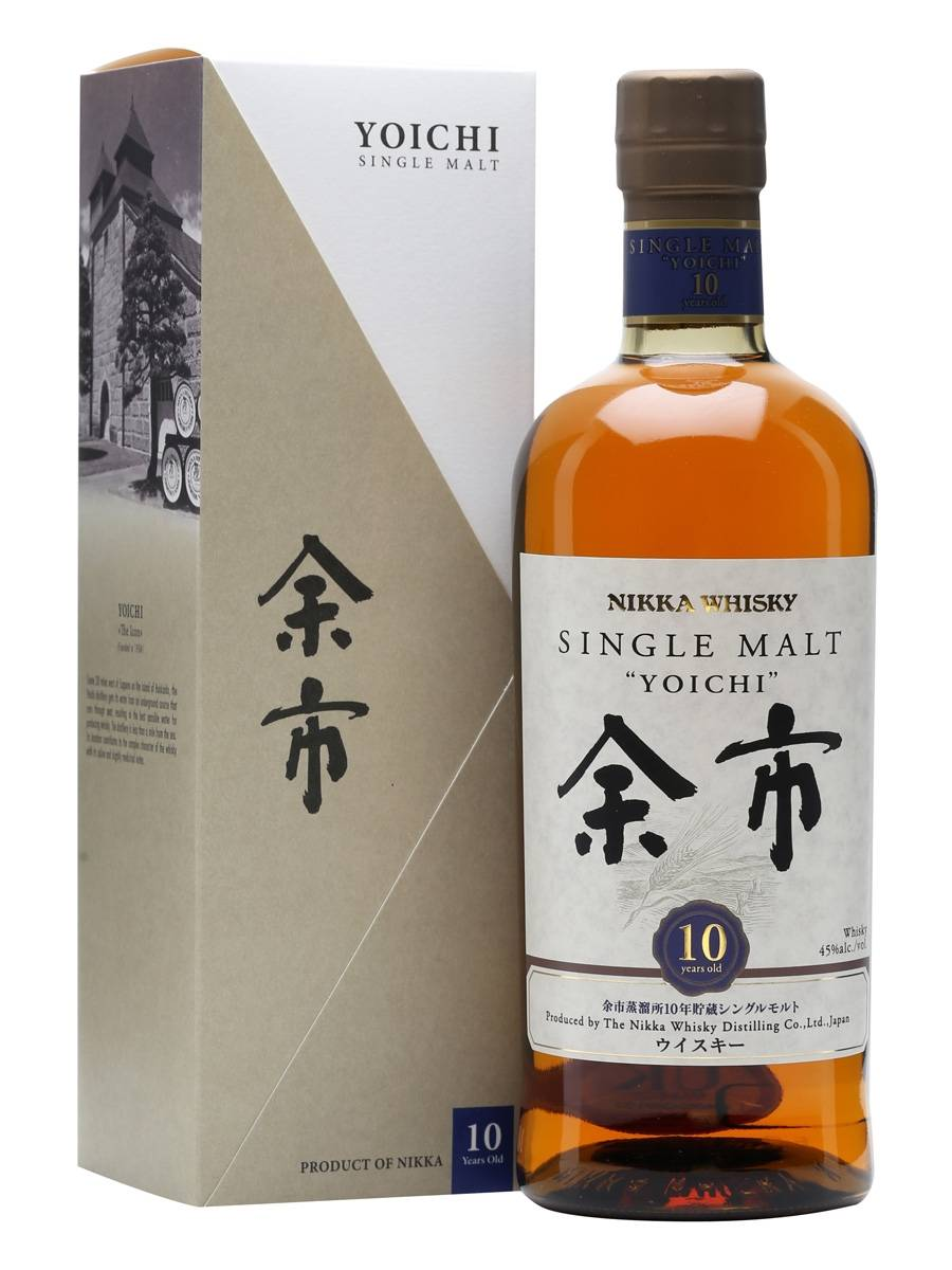 余市 10年日本單一麥芽威士忌 Nikka Yoichi 10 Years Old Japanese Single Malt