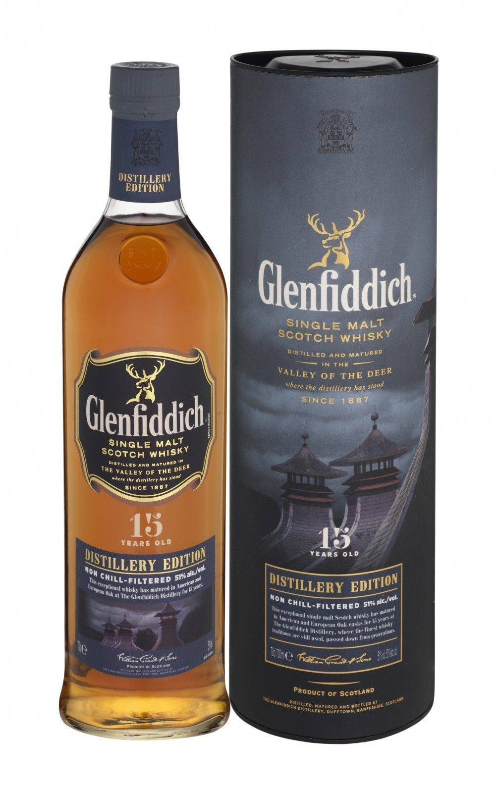 Gienfiddich 15 原酒